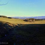 ...der weitere Weg führt mich über die Felder beim Widderhofer...