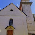 die Kirche St. Pongratzen....
