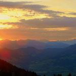 Tag 5 - Ein schöner Sonnenaufgang, geleitet mich zum Frühstück....