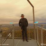 .....am Aussichtsturm war es heute deutlich frischer als gestern....