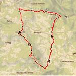 ....die heutige Tour, Rundumadum um Wenigzell.