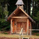 die Hauskapelle bei der Bratlalm