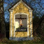 """Ein schönes Hauskreuz beim """"Tarbauer""""....."""