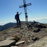 am Gipfel des Hämmerkogel - 2253 m
