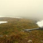 ...das Wetter hat sich geändert, Nebel ist eingefallen