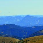 Blick Richtung Hochlantsch und in die Oststeiermark