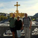 Ein großer DANK an Monika und an Gottfried, die mich bereits in Rom abgeholt haben. Lourdes ist zwar ein Stück weiter als Rom, aber auch hier haben sie mich abgeholt. DANKE, DANKE, DANKE