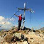 Gipfel 4 erreicht, Gr. Hengst - 2159 m