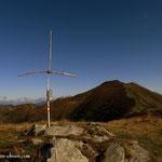 .....oben angelangt, am Gipfel, Griesmoarkogel (2009 m)....