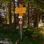 ...am Alptor (1386 m) angekommen...
