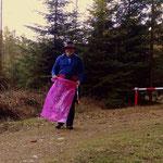 """....die Aufgabe für heute Müll sammeln """"nixalsmüll"""". Für saubere Wanderwege im Joglland, für eine saubere Steiermark....."""