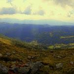 Panorama, von der Grazer Hütte bis hin zum Prebersee