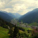 schon in Talnähe, St. Anton am Arlberg wird immer greifbarer