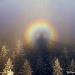 ....eine wahrlich coole Erscheinung meiner Wenigkeit, im Lichtspektakel zwischen Nebel und Sonne.