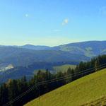 oben dann ein Blick zurück, in Richtung Teufelstein und Fischbach