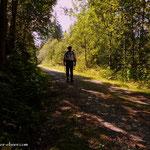 ....zuerst der lange Weg durch die Freßnitzgräben....