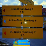 ....der Weg ist definiert Antoni Taferl Weg 6.....