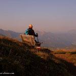 .....ein schönes Platzerl und eine tolle Aussicht in die steirische Bergwelt.....