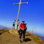 Hoher Freschen (2004 m), die letzte Erhebung über 2000 m, jetzt geht es wirklich nur noch bergab.