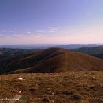 ...Blick vom Weißenstein (2160 m) über den Hofalmkogel zum Speikkogel....