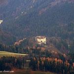 """...ein Blick zum Schloss """"Frondsberg"""" bei Koglhof...."""