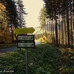 ....kurz vor St. Georgen leitet mich der Weg hinunter zum Gasenbach und hinauf nach Aschau....