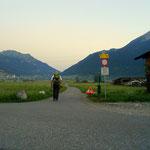 Tag 3 - Aufbruch in Ehrwald, es geht hinüber nach Lermoos.