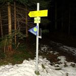 24.12.2020 - Die traditionelle Wanderung zum Sonnenaufgang auf die Wildwiese....