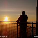 20.10.2020 - Heute hat es wieder gepasst, Sonnenaufgang auf der Wildwiese....