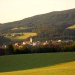 Blick zurück nach Wenigzell
