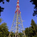 angelangt am Stradner Kogel 609 m höchste Erhebung im Bezirk Süd-Oststeiermark