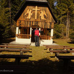 ....die Schacherbauer Kapelle, der Nordwestlichste Punkt meiner heutigen Wanderung....