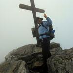 am Gipfel der Steirischen Kalkspitze - 2459 m