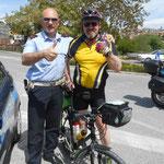 netter Polizist hilft mir durch Spoletto