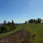 ein Blick zurück über die Remschnigg Alm