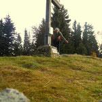 "Masenberg - 1261 m, der höchste Punkt meiner ""Jogllandrunde"""