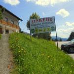 Niederalpl, ab hier führt der Weitwanderweg 05 & sowie der Weitwanderweg 06, gemeinsam bis Mariazell. Den ersten Stempel für meinen Wanderführer somit abgeholt.