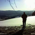 ....noch ein Blick von der Raschlwies'n über Vornholz bis hinunter ins Burgenland.....