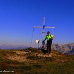 ....und schon ist der Leobner (2036 m) geschafft....