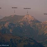.....da wären noch 2 Berggipfel, die einen Besuch erfordern....