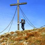 der Gipfel des Speikkogel - 1988 m ist erreicht. Somit der Bezirk Graz Umgebung erledigt
