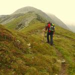 jetzt der Anstieg zum Höllkogel (2323 m)