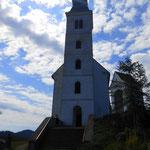 die Wallfahrtskirche Sveti Duh am Osterberg
