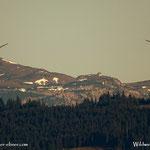 ...Schneealmhaus und der Windberg....