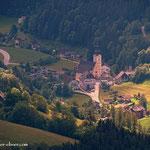 ...die Wallfahrtskirche in St. Erhard...