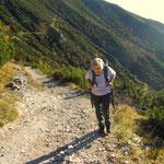 für Luise die erste Bergtour im Jahr.....