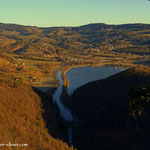 ....oben angelangt hat man einen schönen Blick zum Stubenbergsee.....