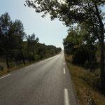 am Weg nach Aix en Provence