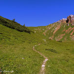 ....über einen schönen Wanderweg.....