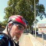 Arles ist erreicht, sehr heiß